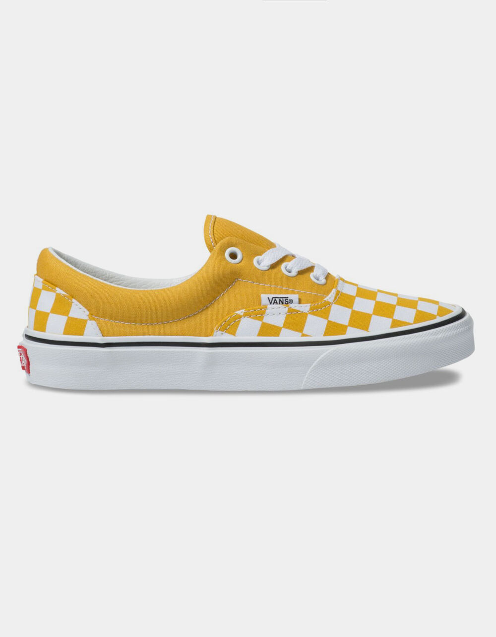 VANS Checkerboard Era Yolk Yellow Shoes