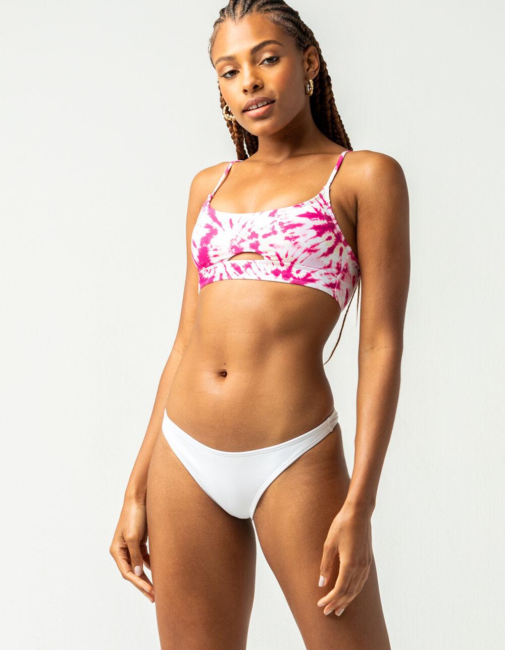 FULL TILT Tiny White Bikini Bottoms