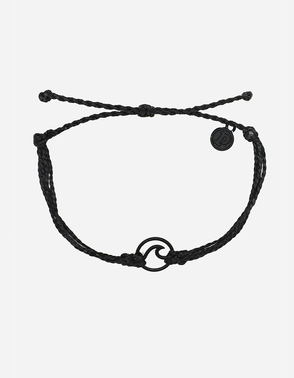 PURA VIDA Wave Black Bracelet