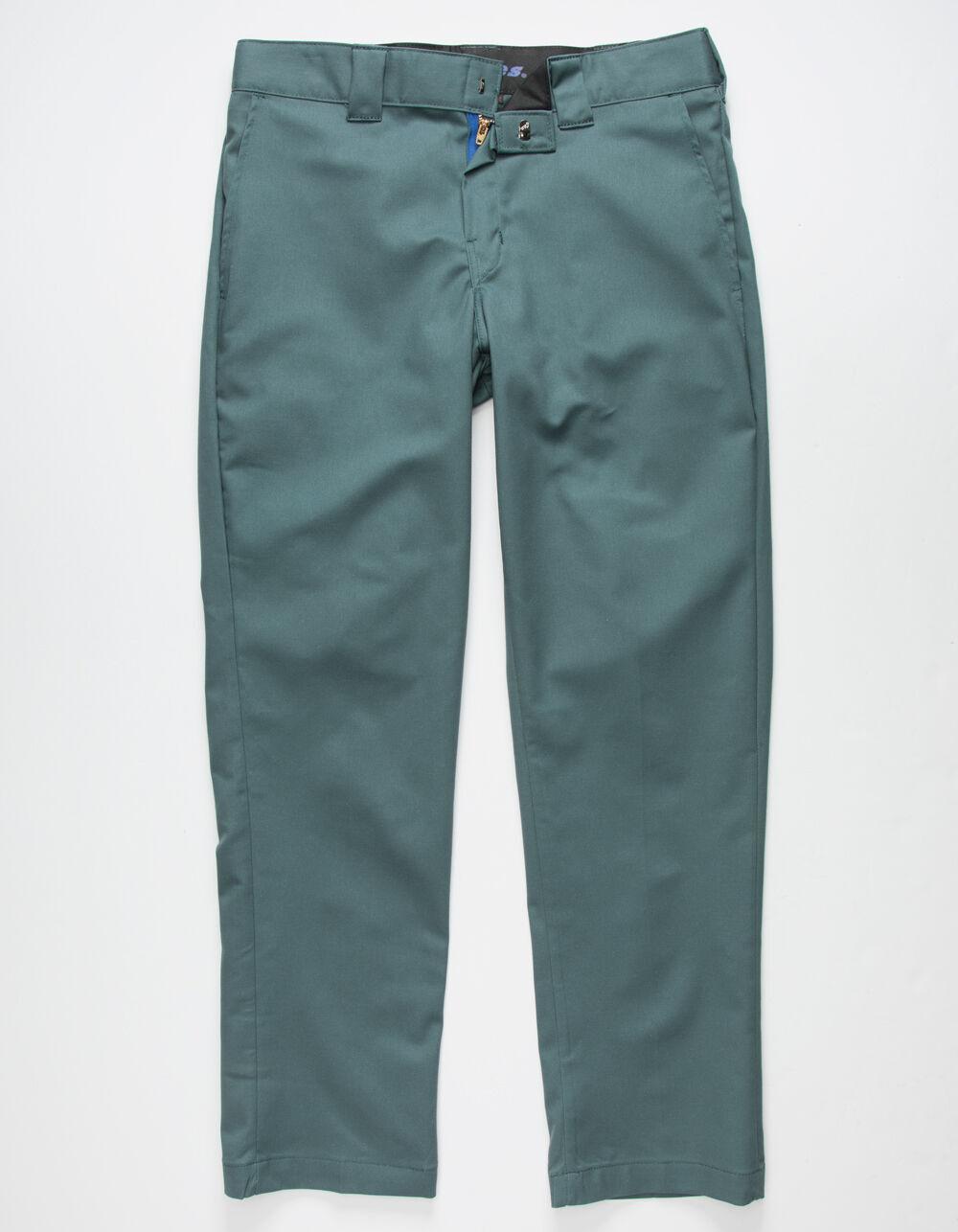 DICKIES 850 Slim Taper Flex Dark Green Pants