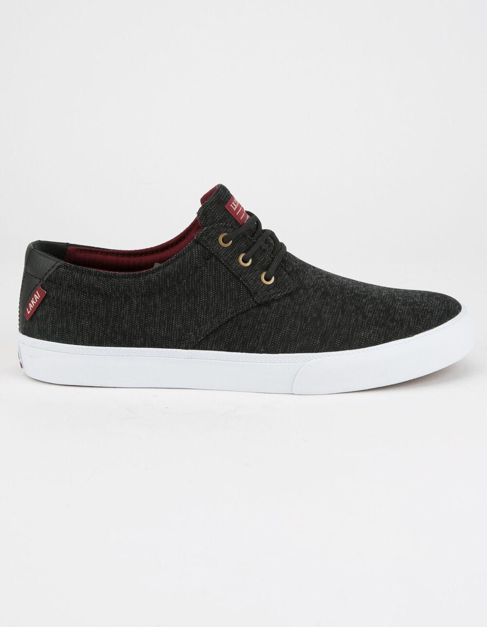 LAKAI Daly Black Shoes