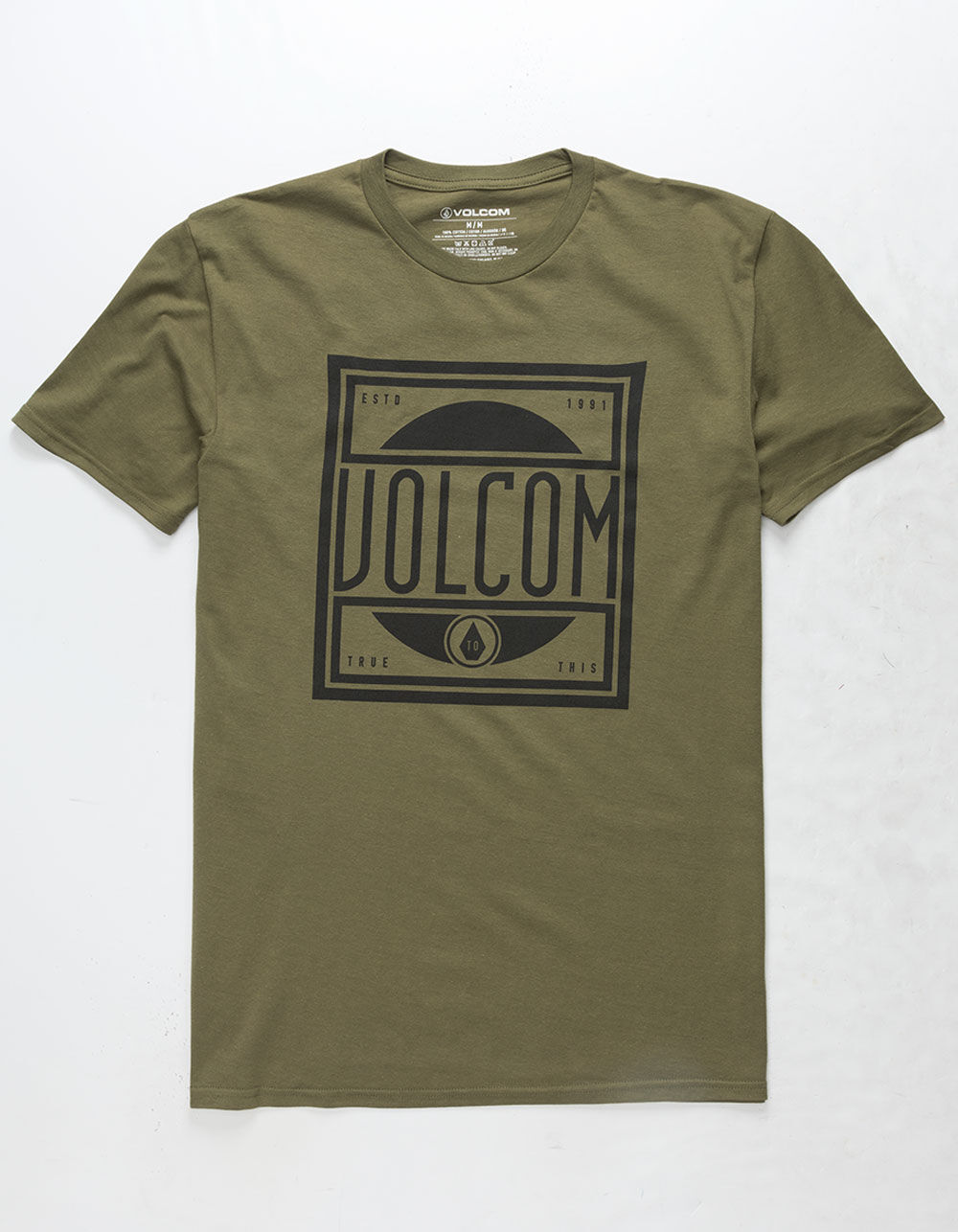 VOLCOM Jaunty Military T-Shirt