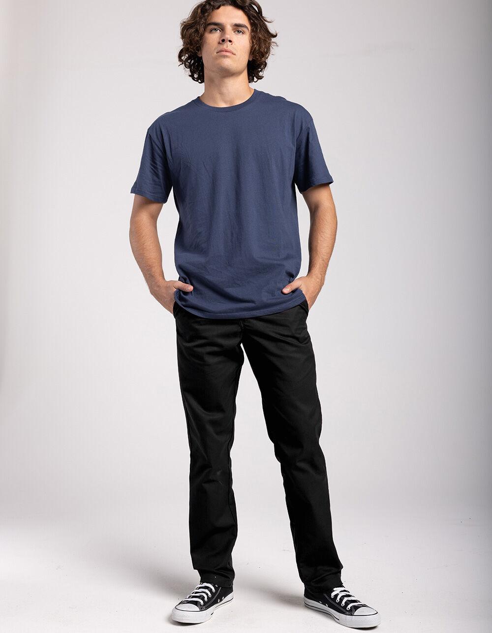 Image of DICKIES 850 SLIM TAPER FLEX BLACK PANTS