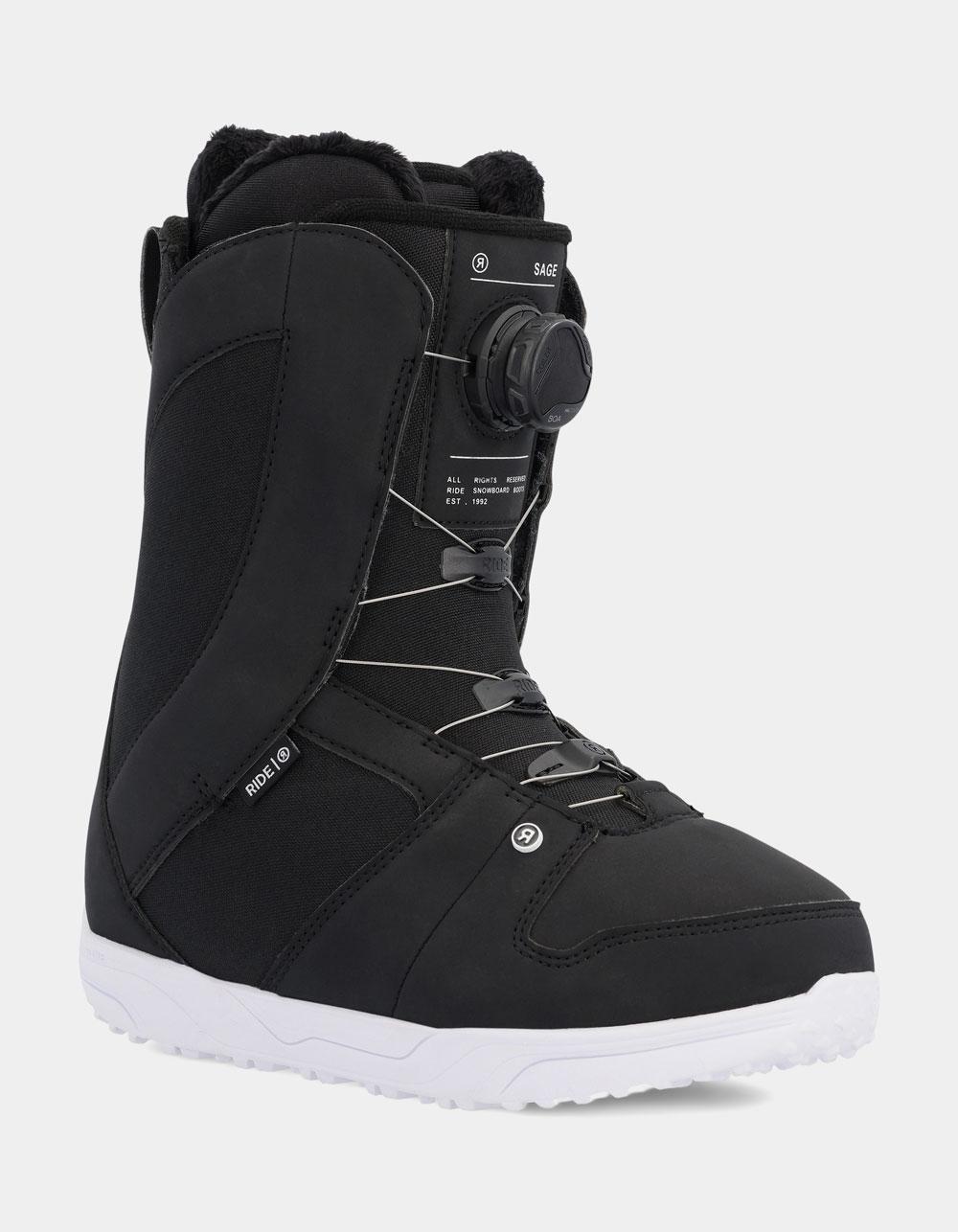 RIDE SNOWBOARDS Sage Snowboard Boots
