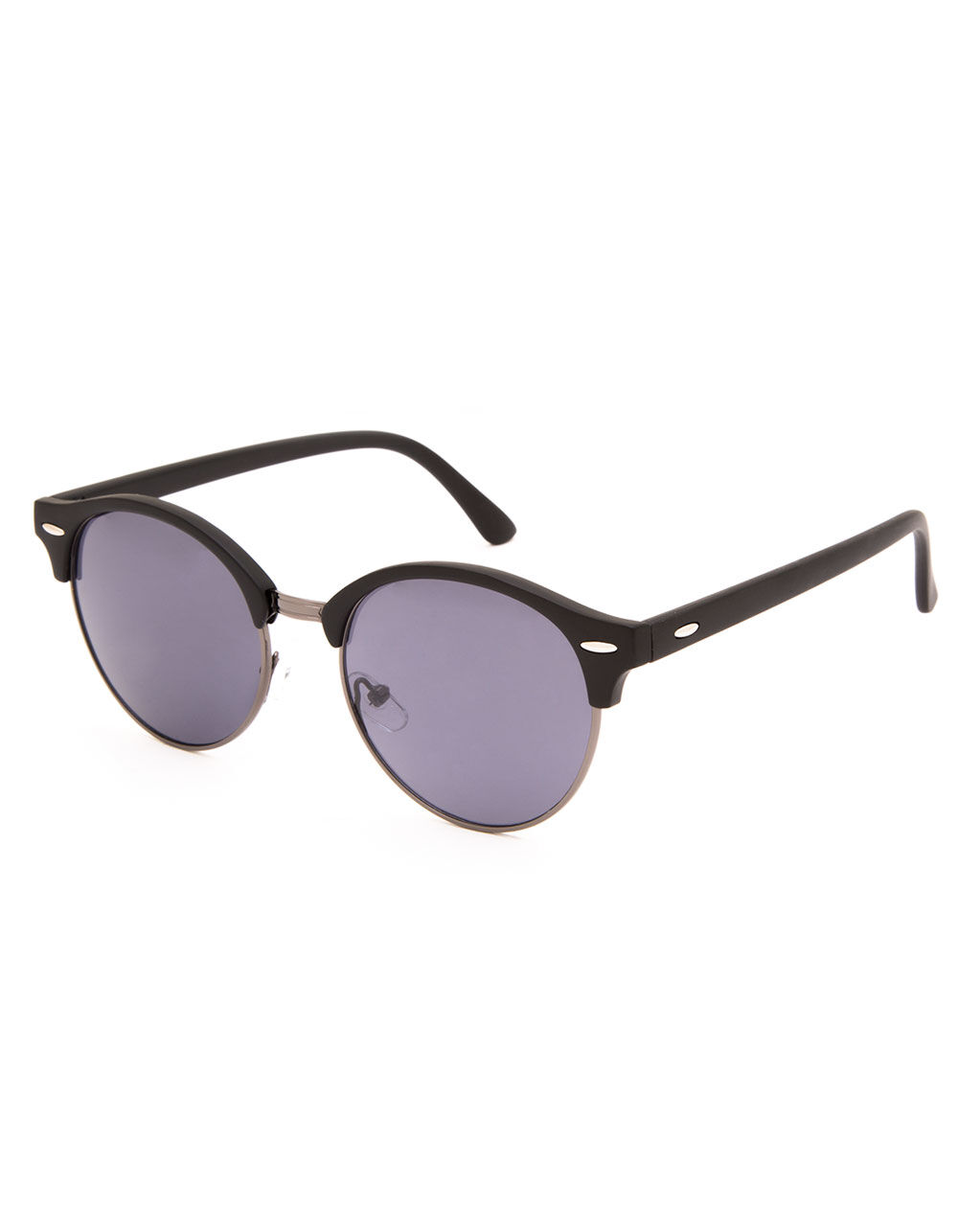 BLUE CROWN Electric Clubmaster Sunglasses