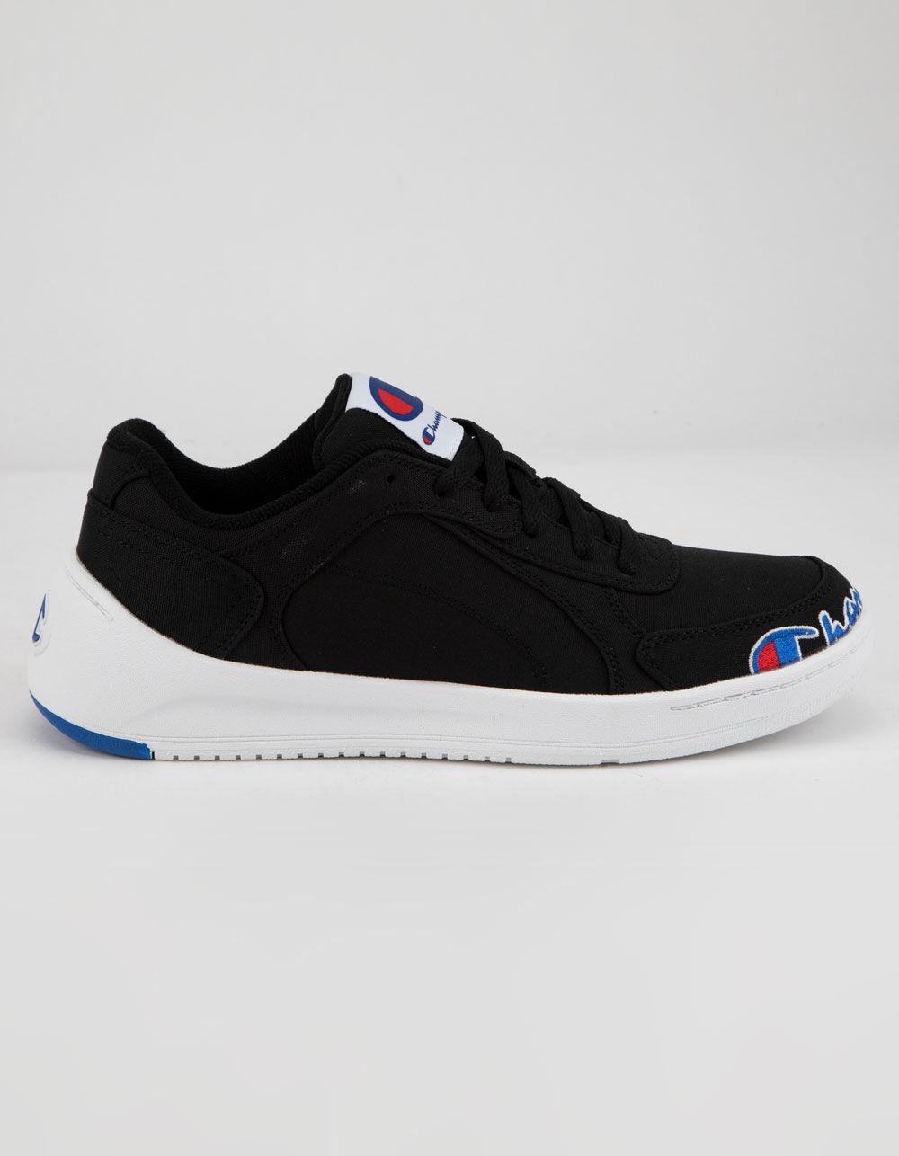 CHAMPION Super C Court Low Black & White Shoes