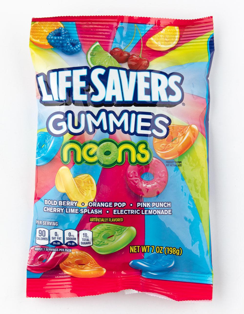LIFE SAVERS Gummies Neons Candy