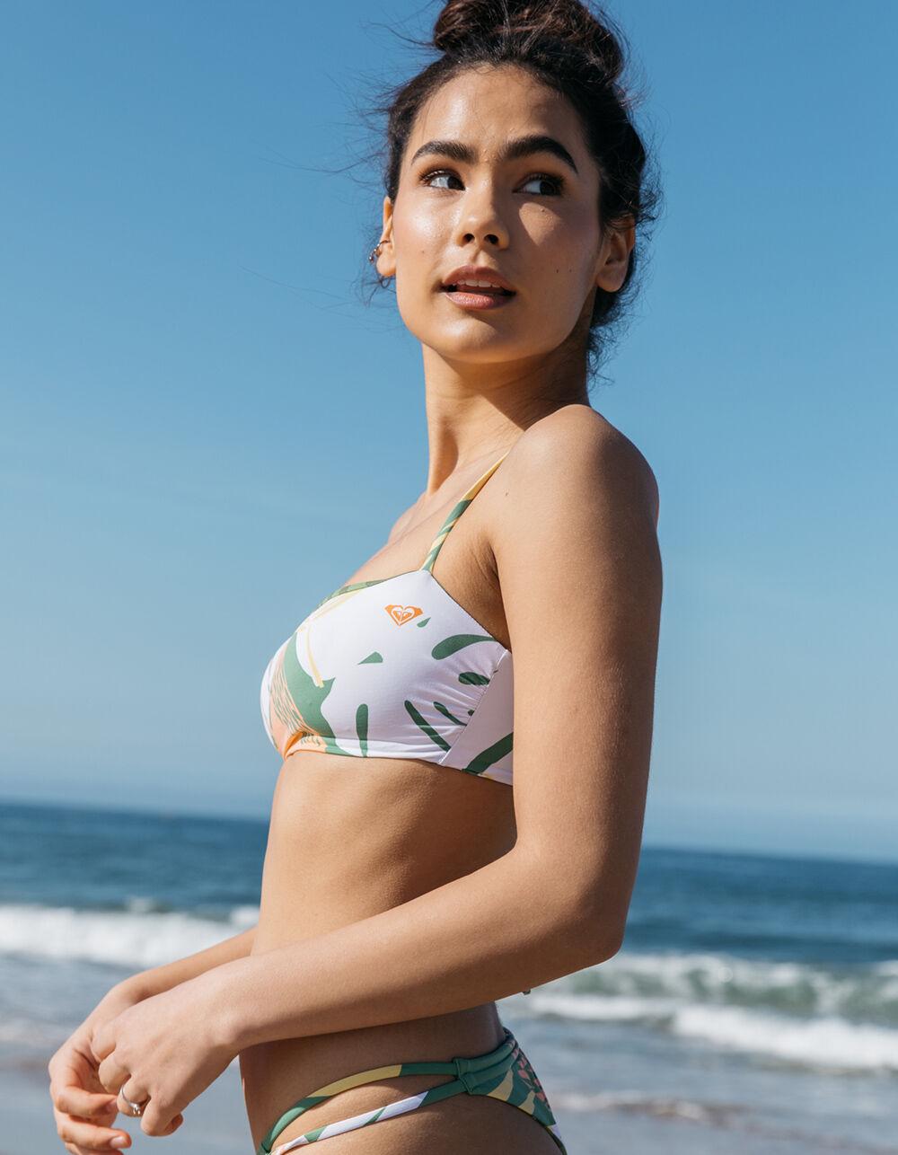 ROXY Wildflowers Bandeau Bikini Top