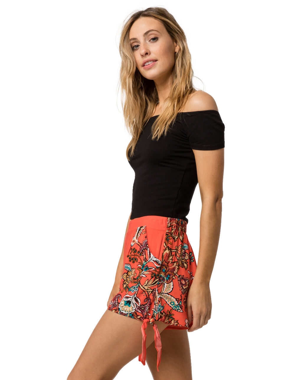 SKY AND SPARROW TIE SIDE SHORTS