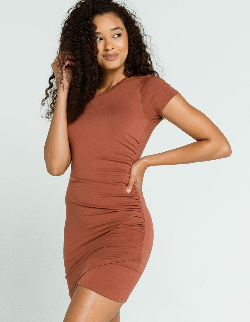 FULL TILT Wrap Bodycon Dress