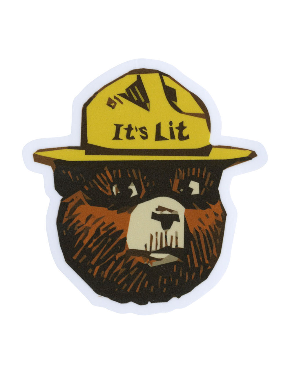 It's Lit Bear Sticker