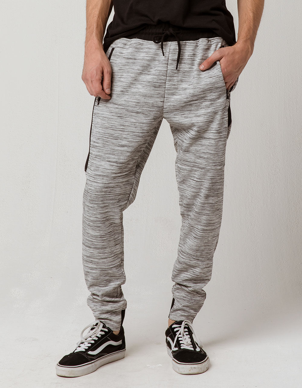 BROOKLYN CLOTH Light Grey Jogger Pants