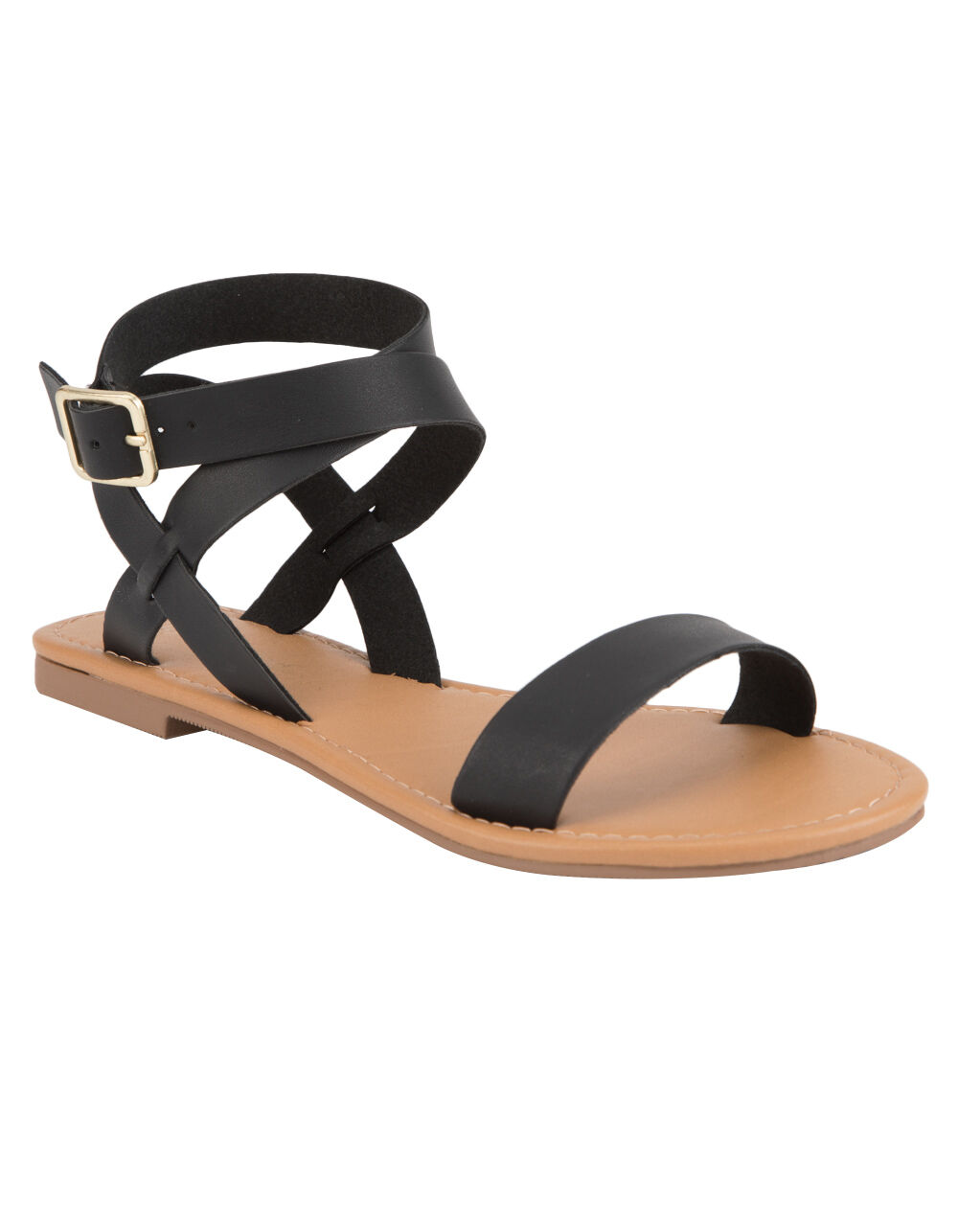 Image of CITY CLASSIFIED BASIC ANKLE WRAP SANDAL
