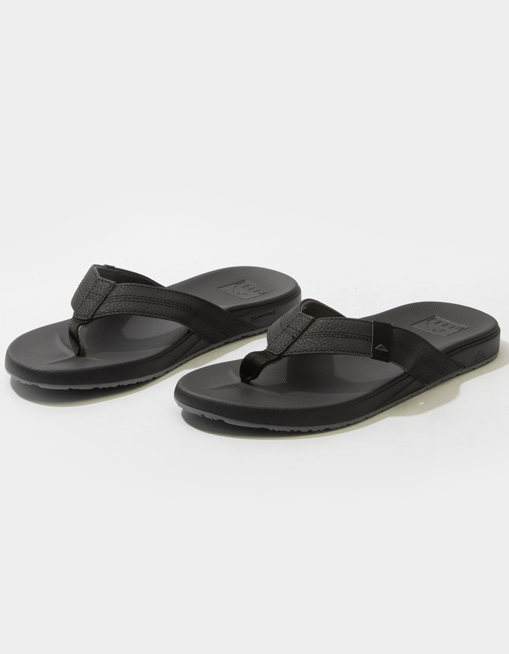 REEF Cushion Bounce Phantom Black Sandals