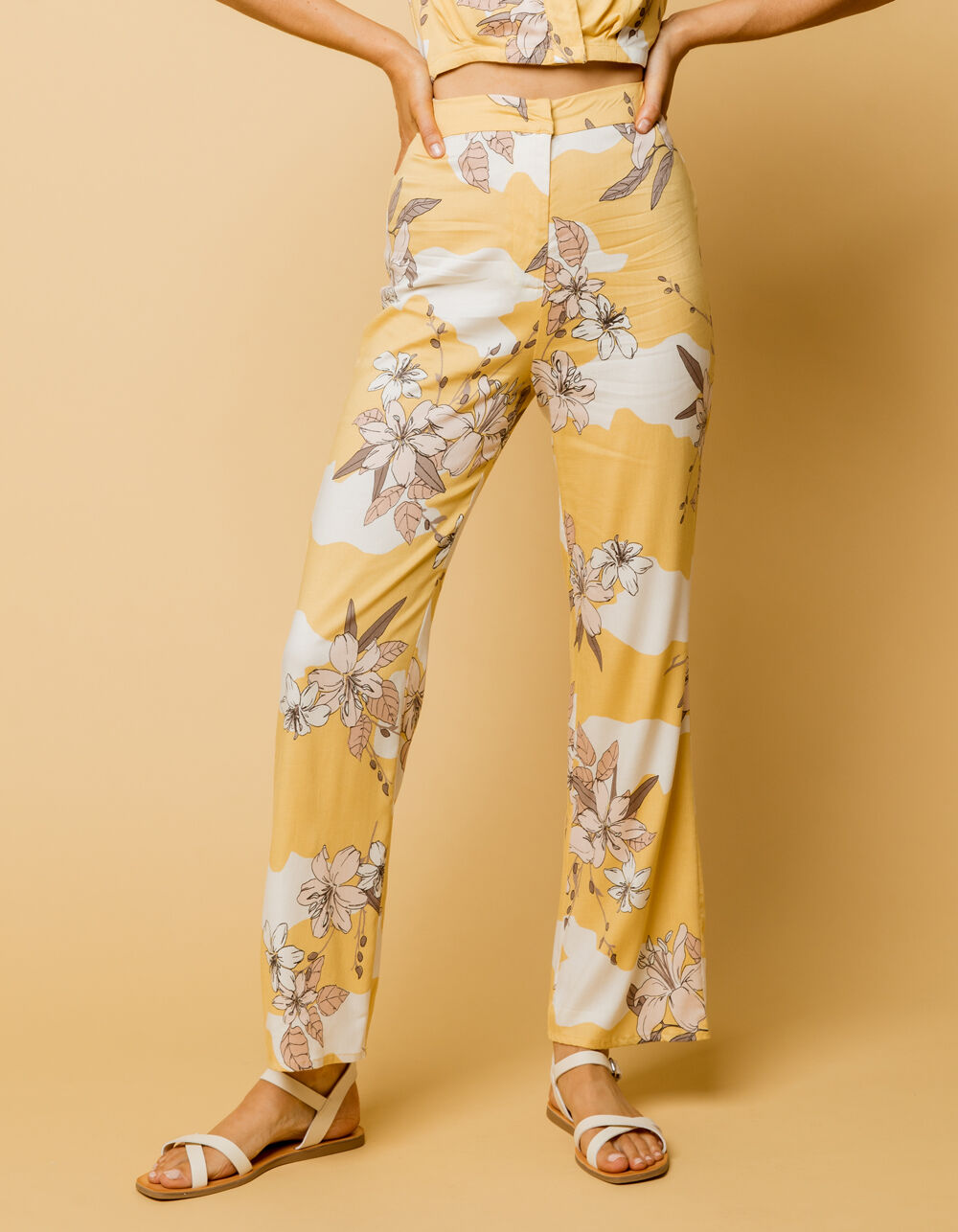 AMUSE SOCIETY Kori High Waisted Pants