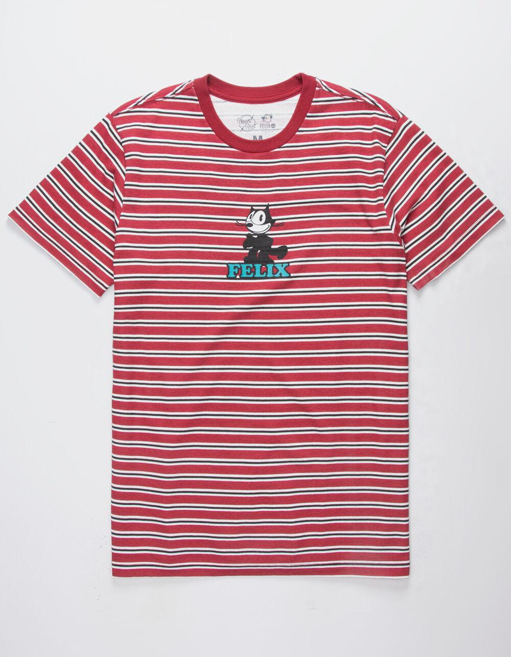 NEON RIOT Felix Stripe T-Shirt