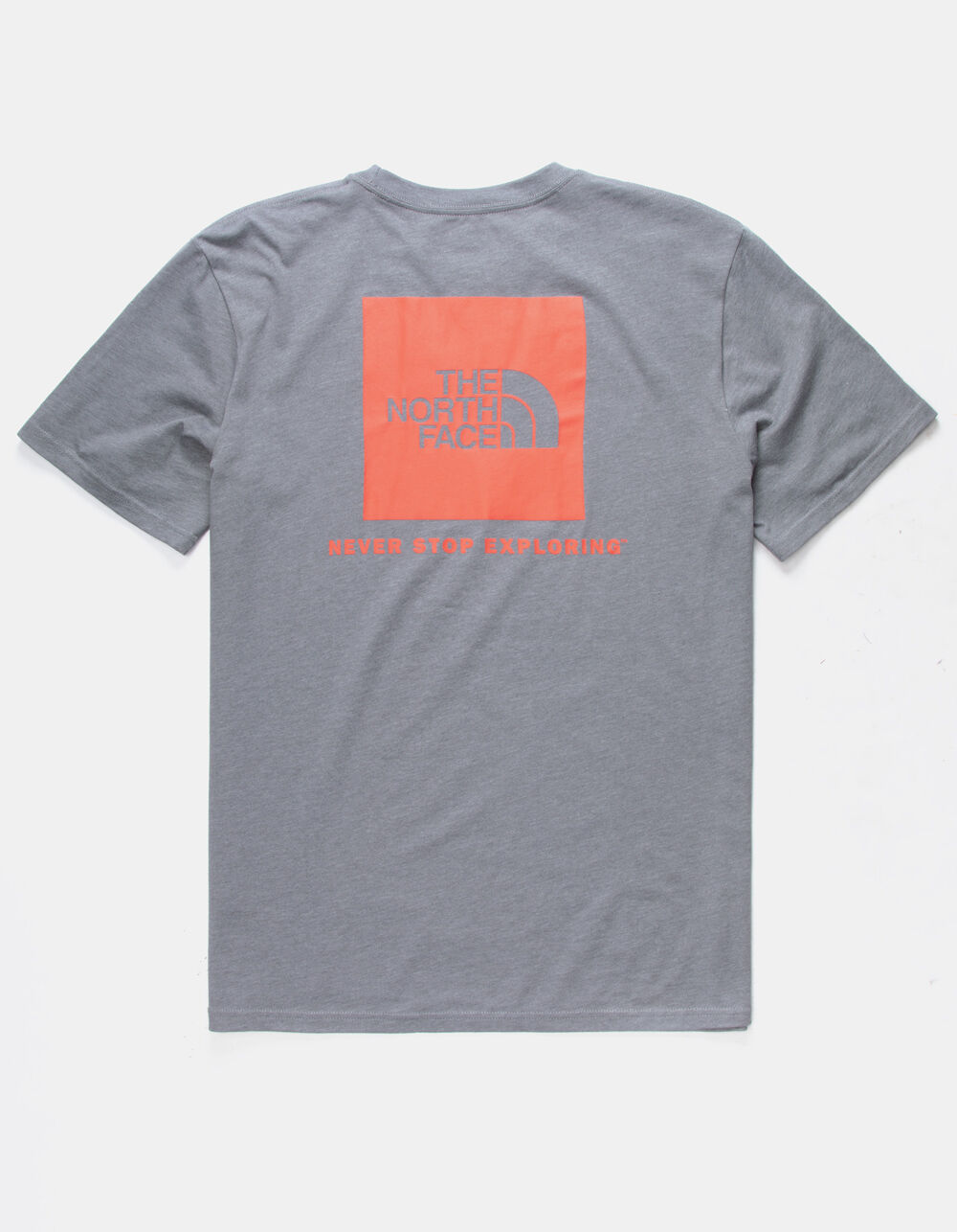 THE NORTH FACE Red Box Heather Gray T-Shirt