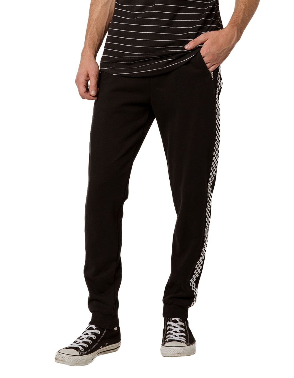 Image of EAST POINTE CHECKERED JOGGER PANTS