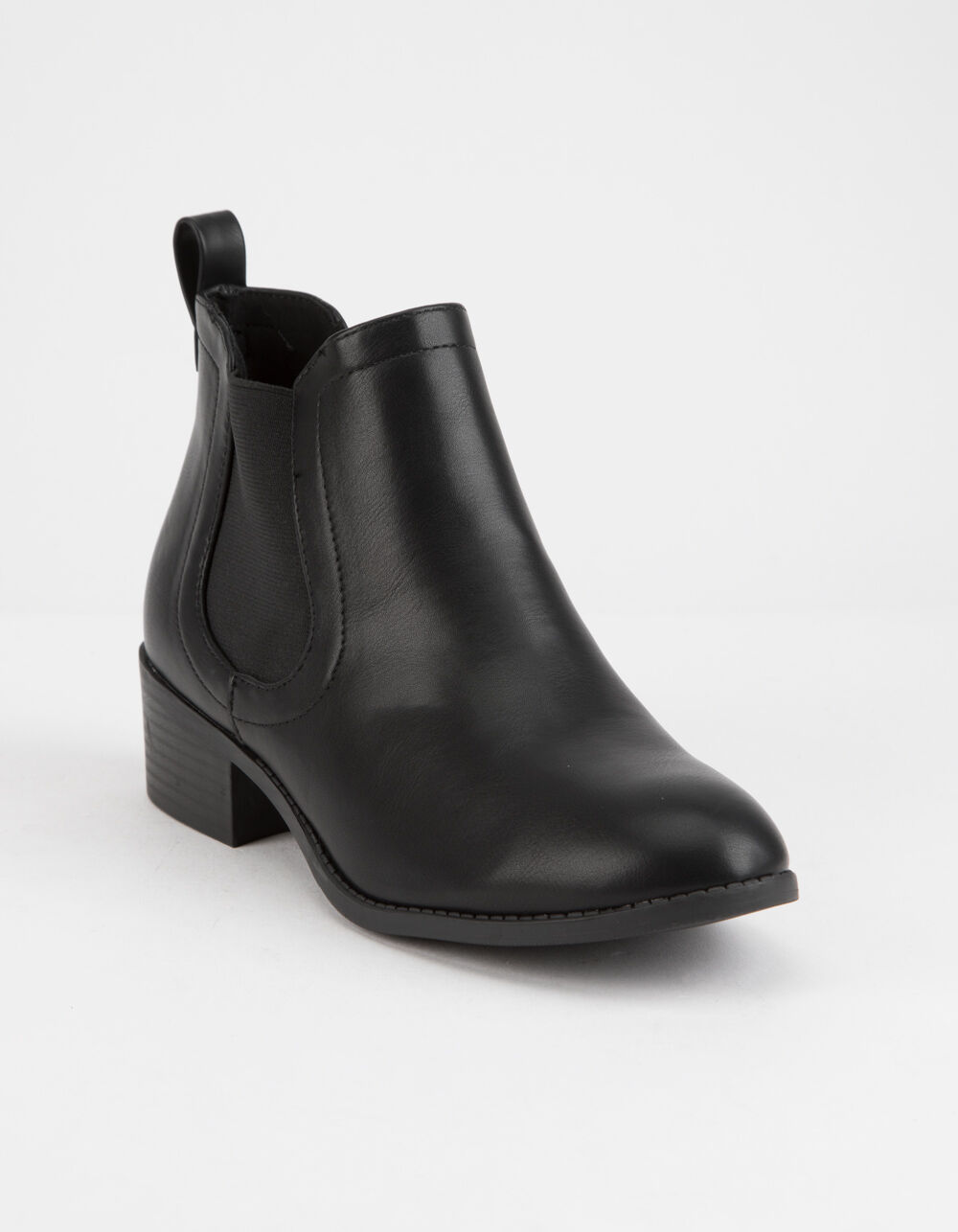 Image of CITY CLASSIFIED CHELSEA BLACK BOOTIES