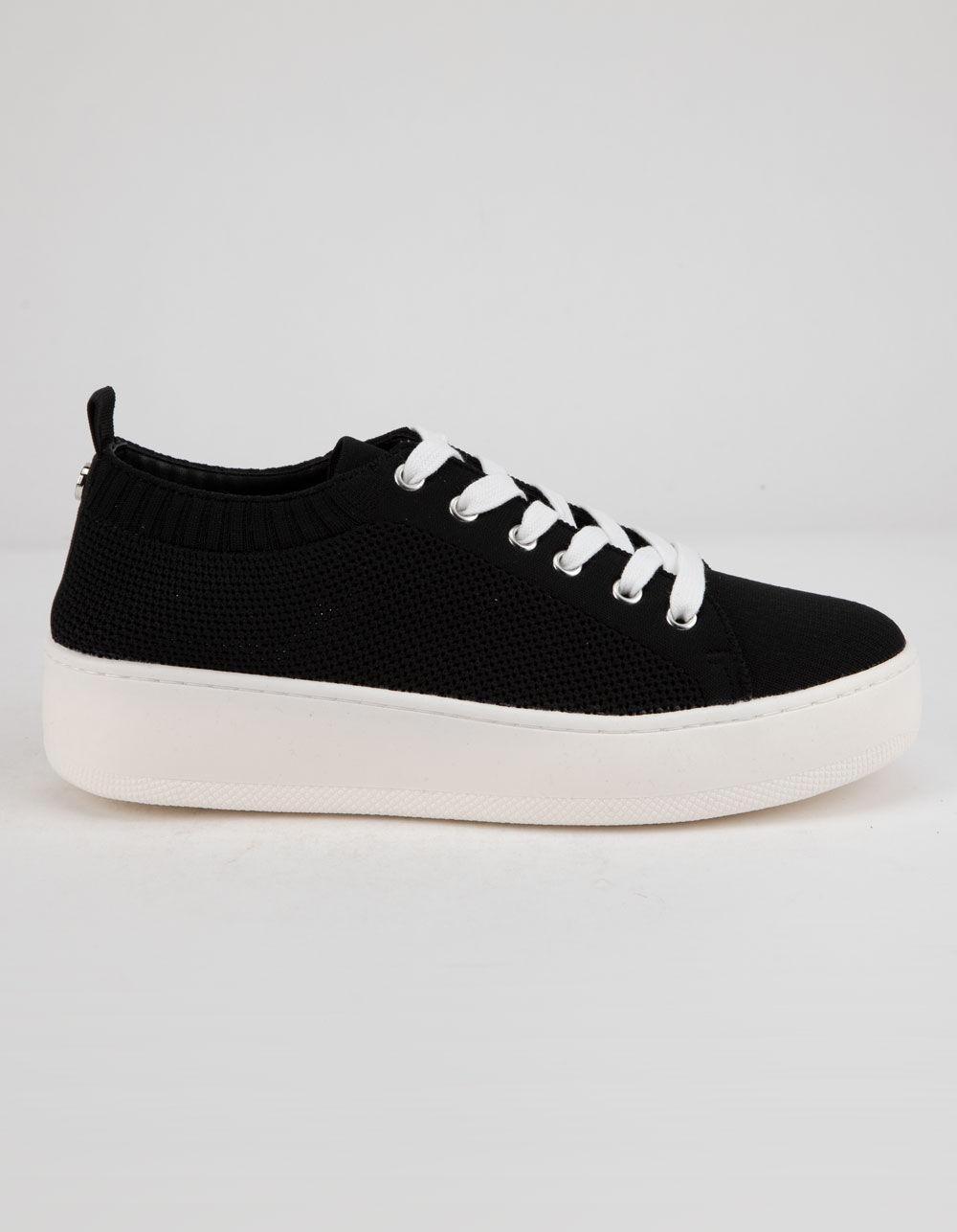 STEVE MADDEN Bardo Black Platform Shoes