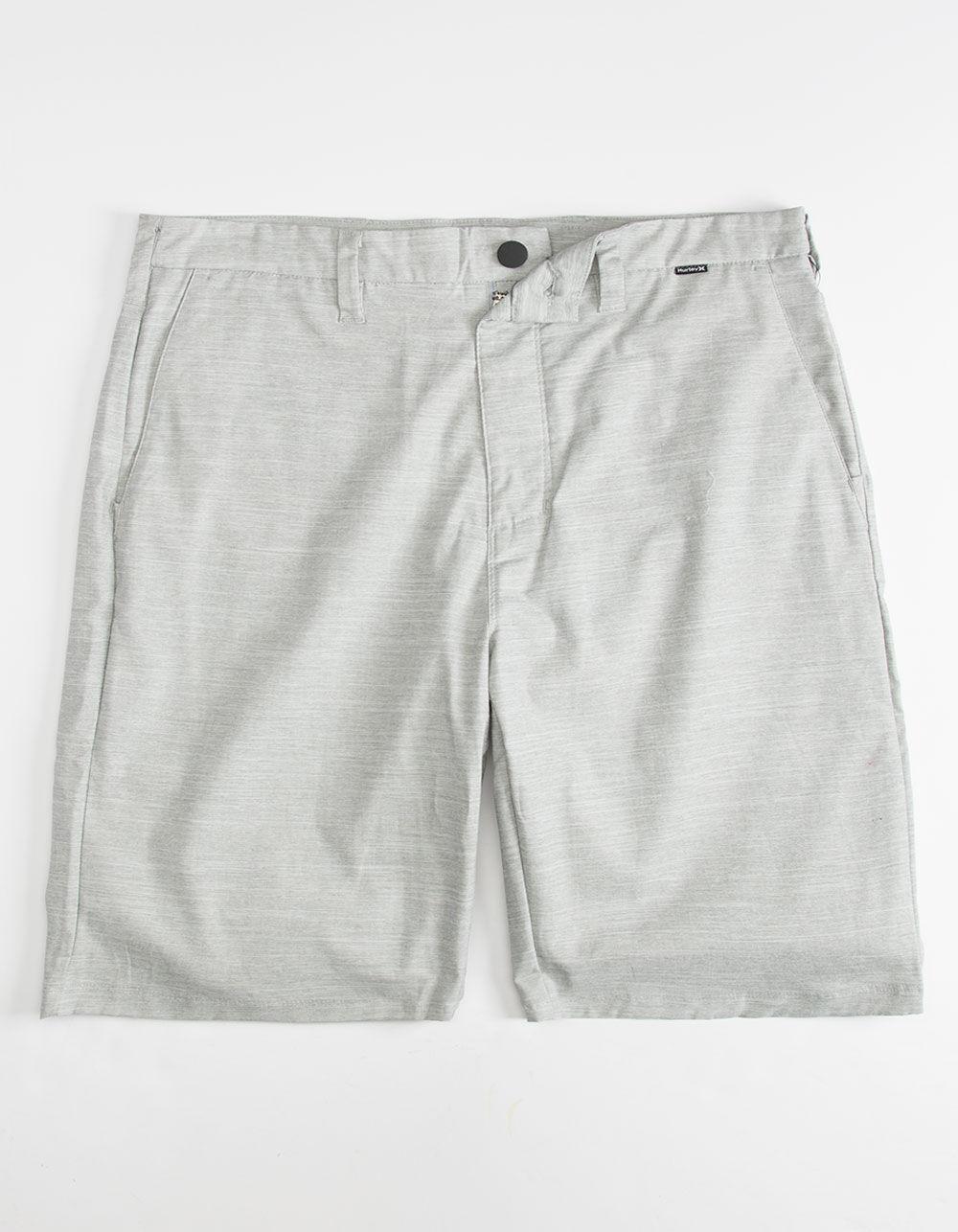 HURLEY Breath Dri-Fit Gray Shorts