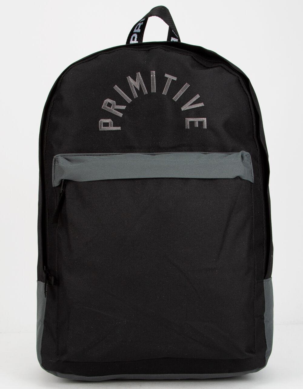 PRIMITIVE Arch Homeroom Black Backpack