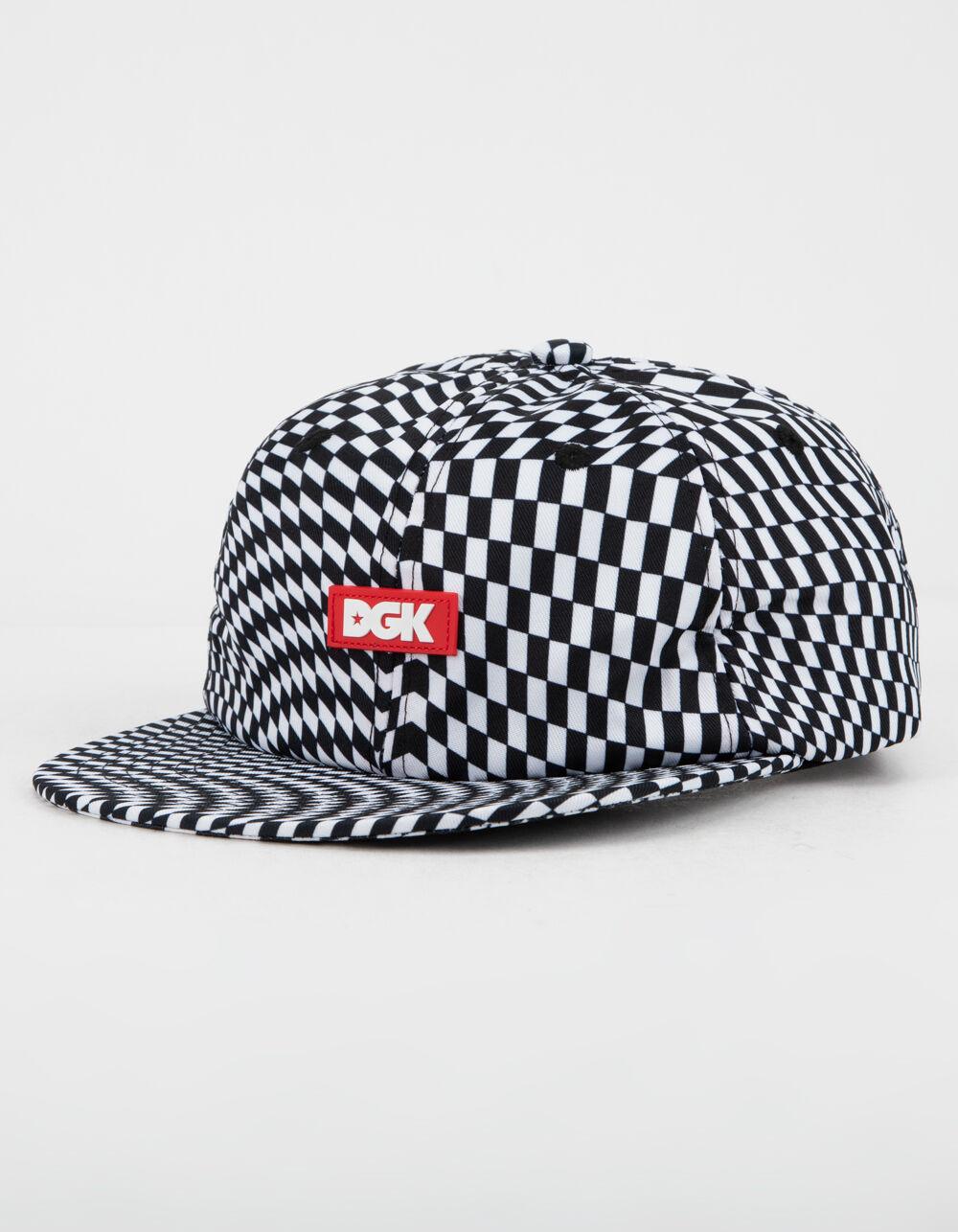 DGK Illusion Black & White Strapback Hat