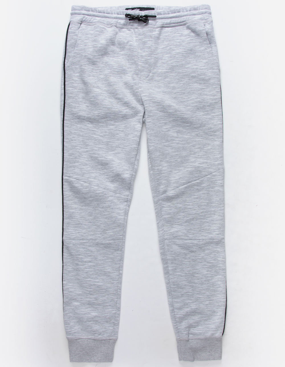 Image of BROOKLYN CLOTH CONTRAST PIPING LIGHT GRAY BOYS JOGGER PANTS