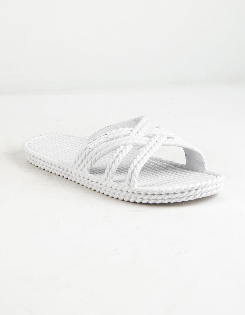 BILLABONG Slippin Slide White Sandals