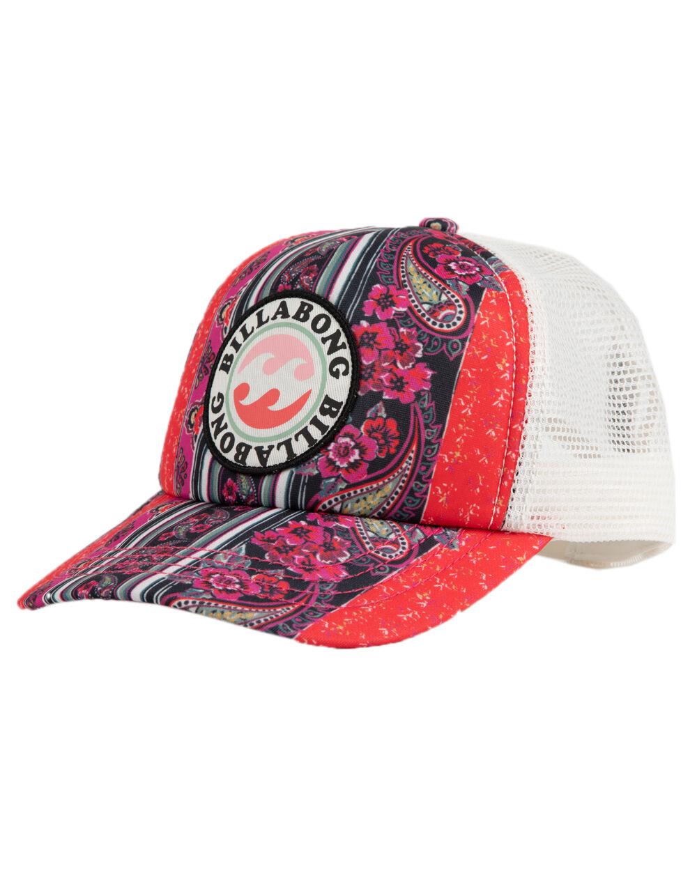 BILLABONG SHENANIGANS FLORAL GIRLS TRUCKER HAT