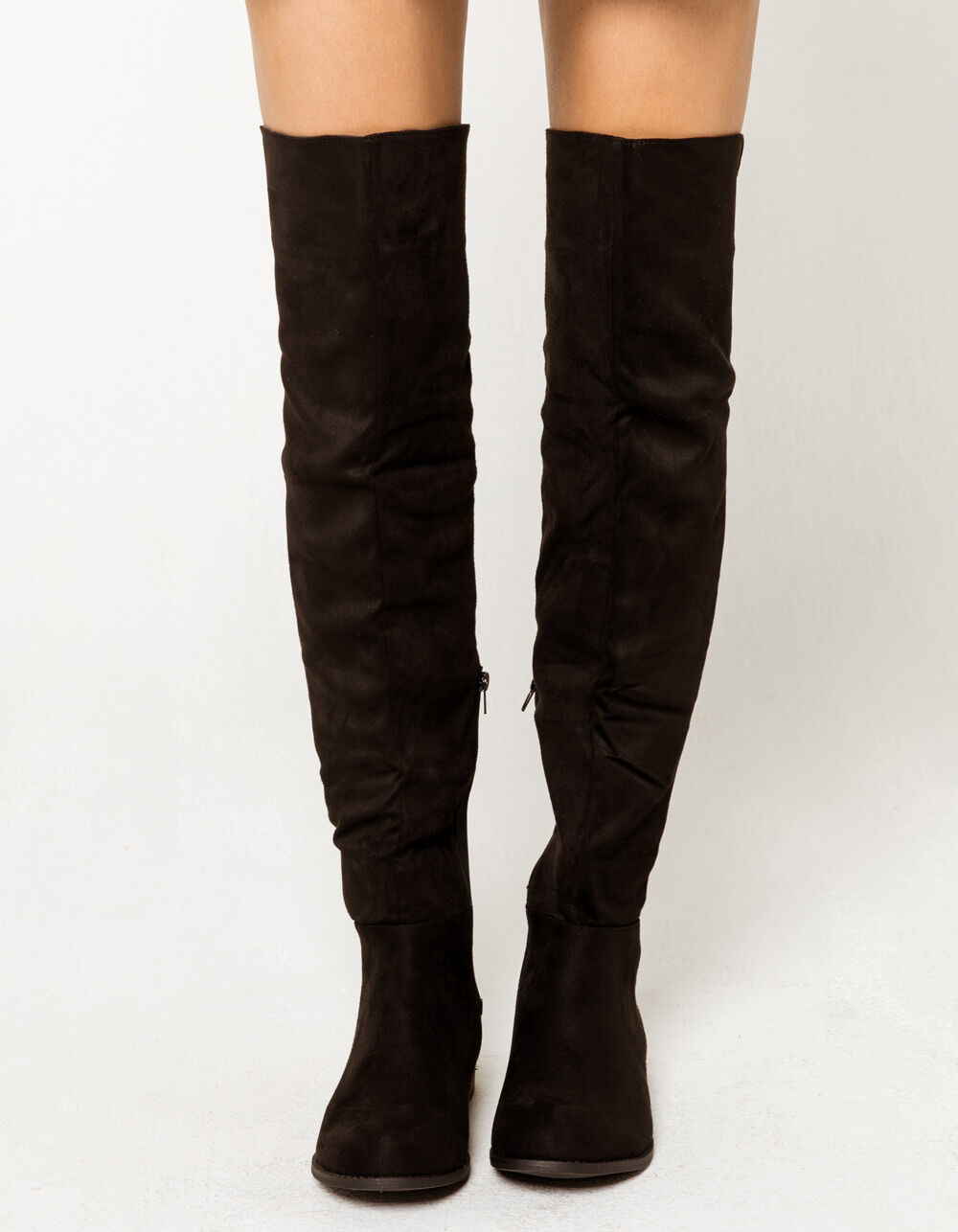 WILD DIVA 50/50 Over The Knee Flat Boots