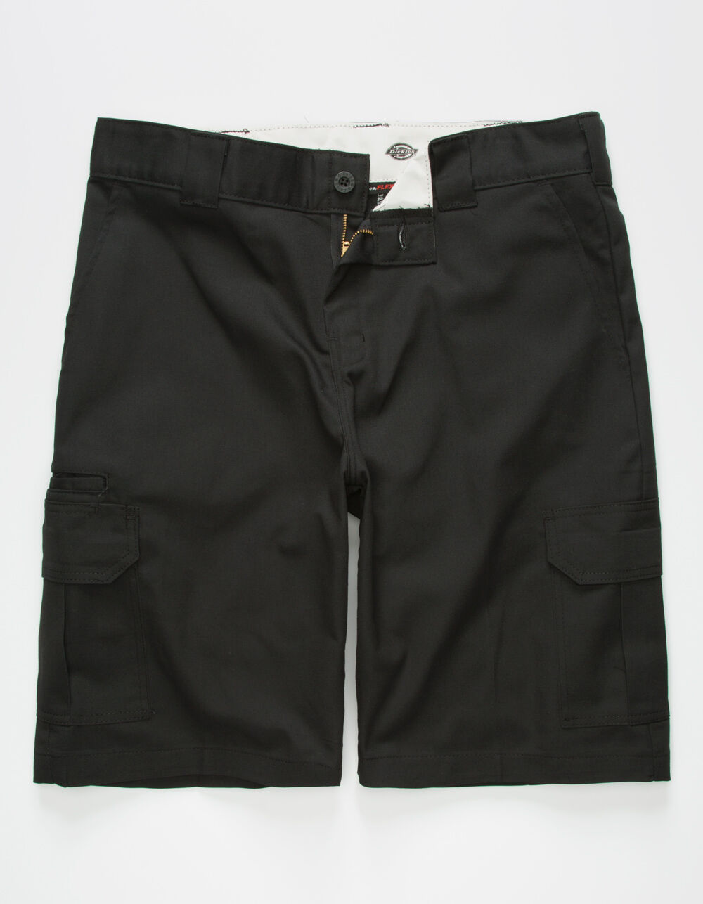 DICKIES Flex Relaxed Fit Black Cargo Shorts
