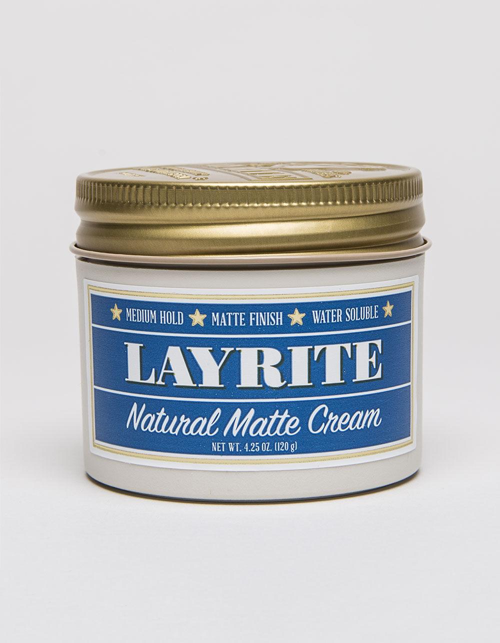 LAYRITE Natural Matte Cream (4.25oz)