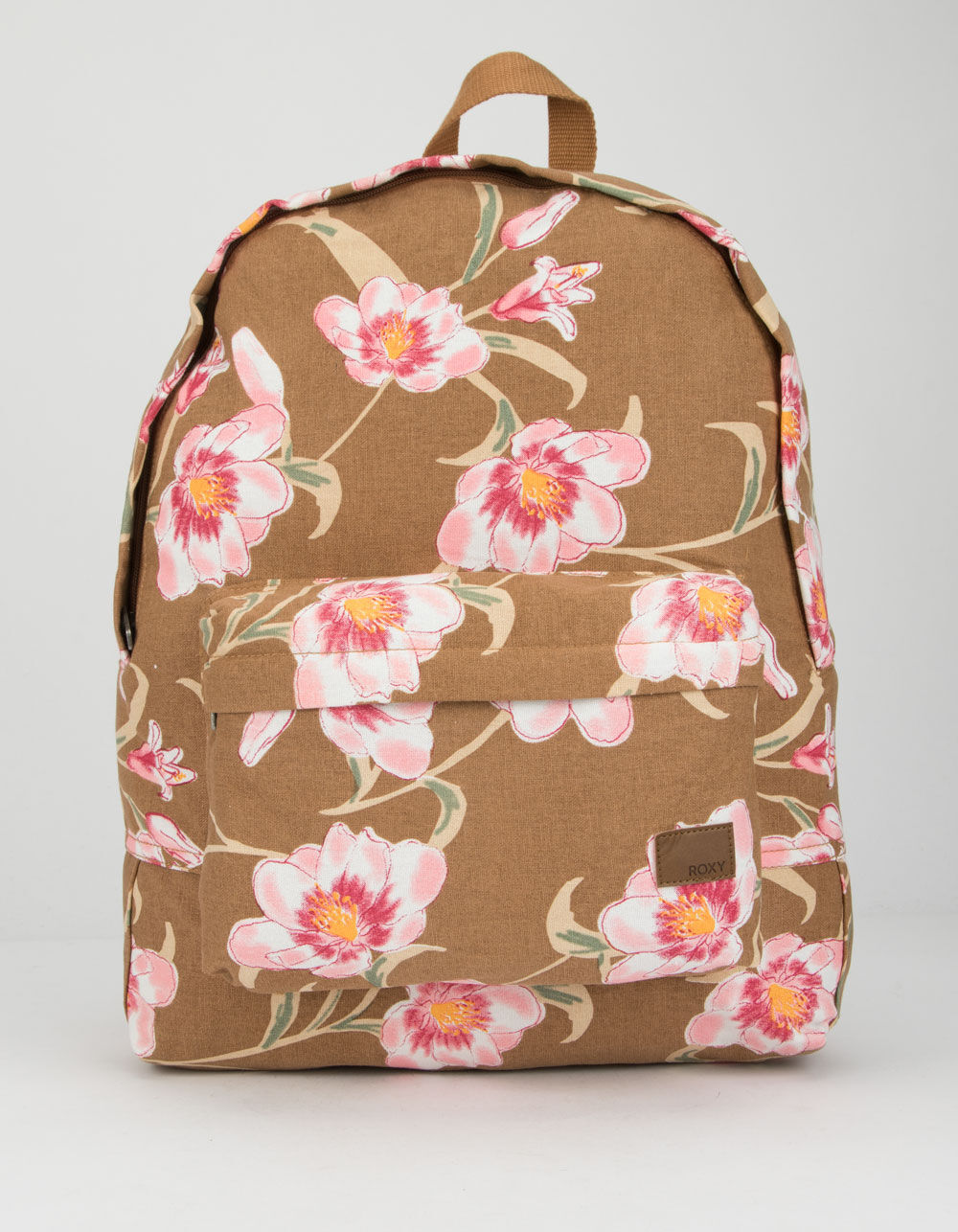 ROXY Sugar Baby Canvas Tan Backpack