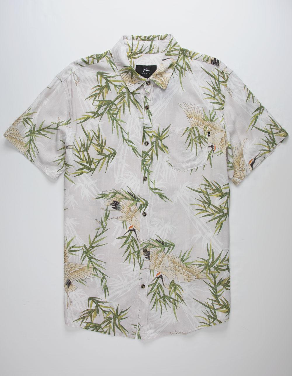 RUSTY Silken Road Shirt