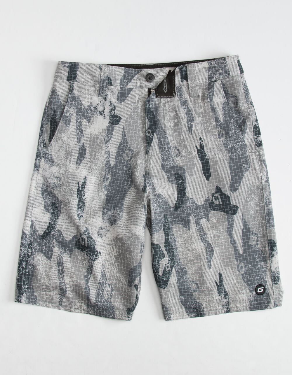 GROM Off Road Boys Camo Hybrid Shorts