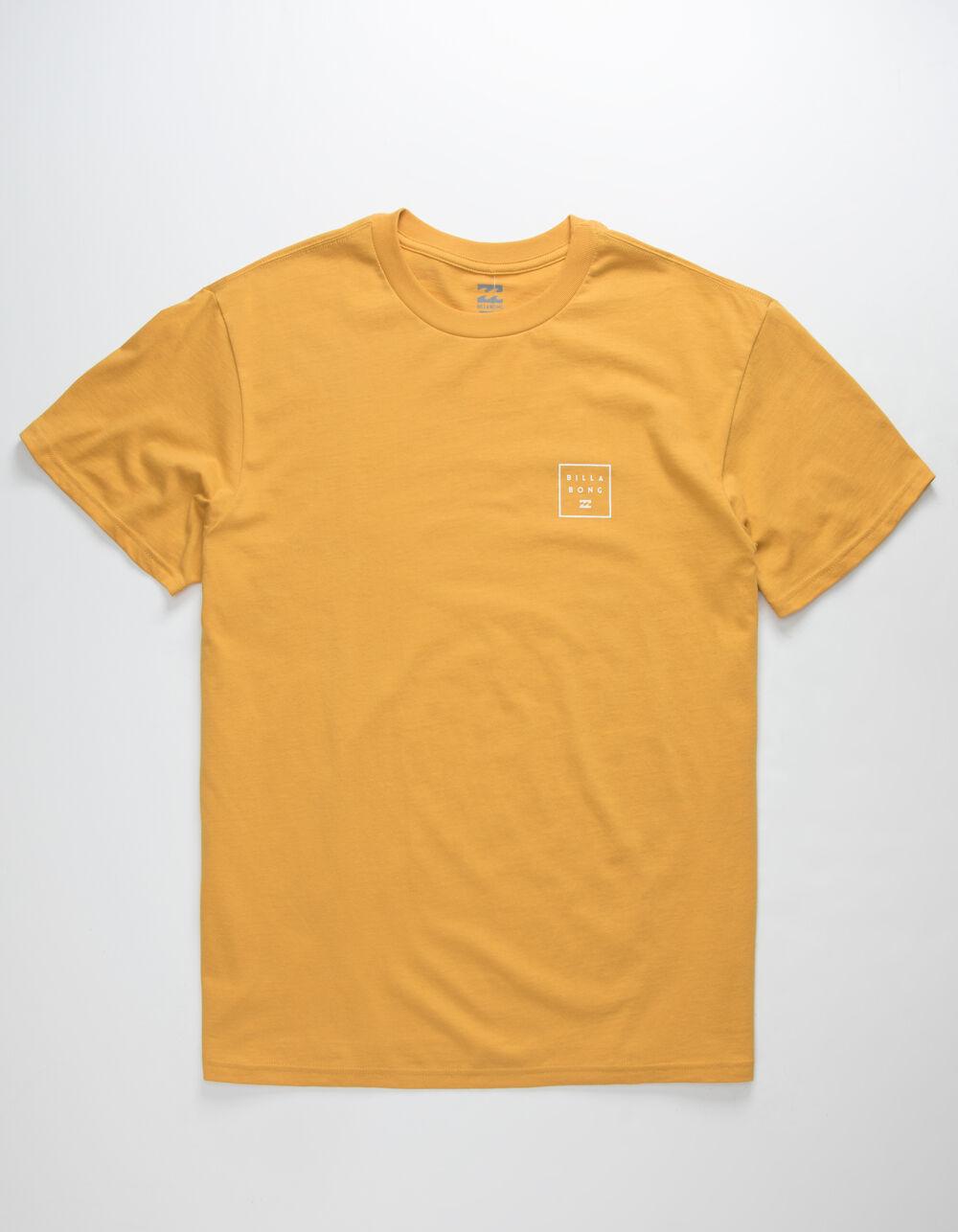 BILLABONG Stacked Gold T-Shirt