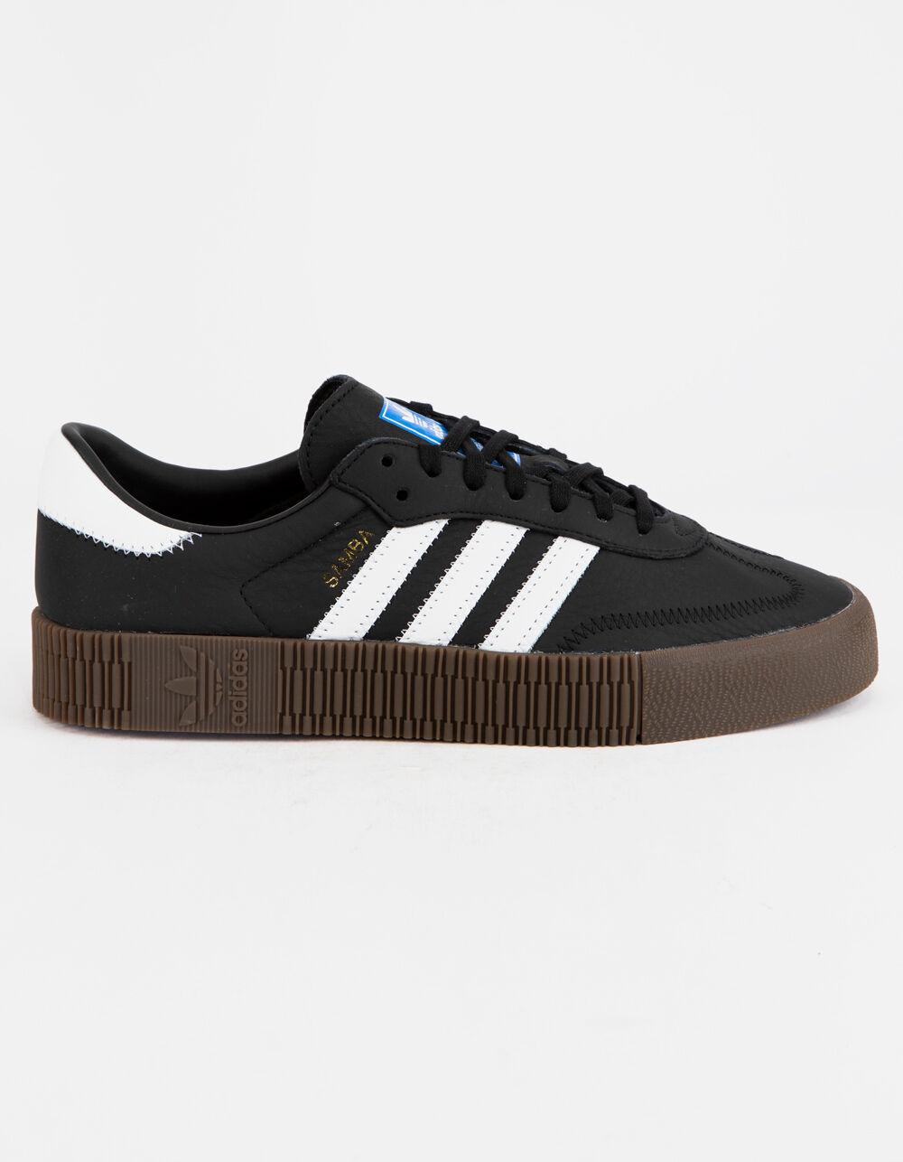 ADIDAS Sambarose Core Black & Gum Shoes