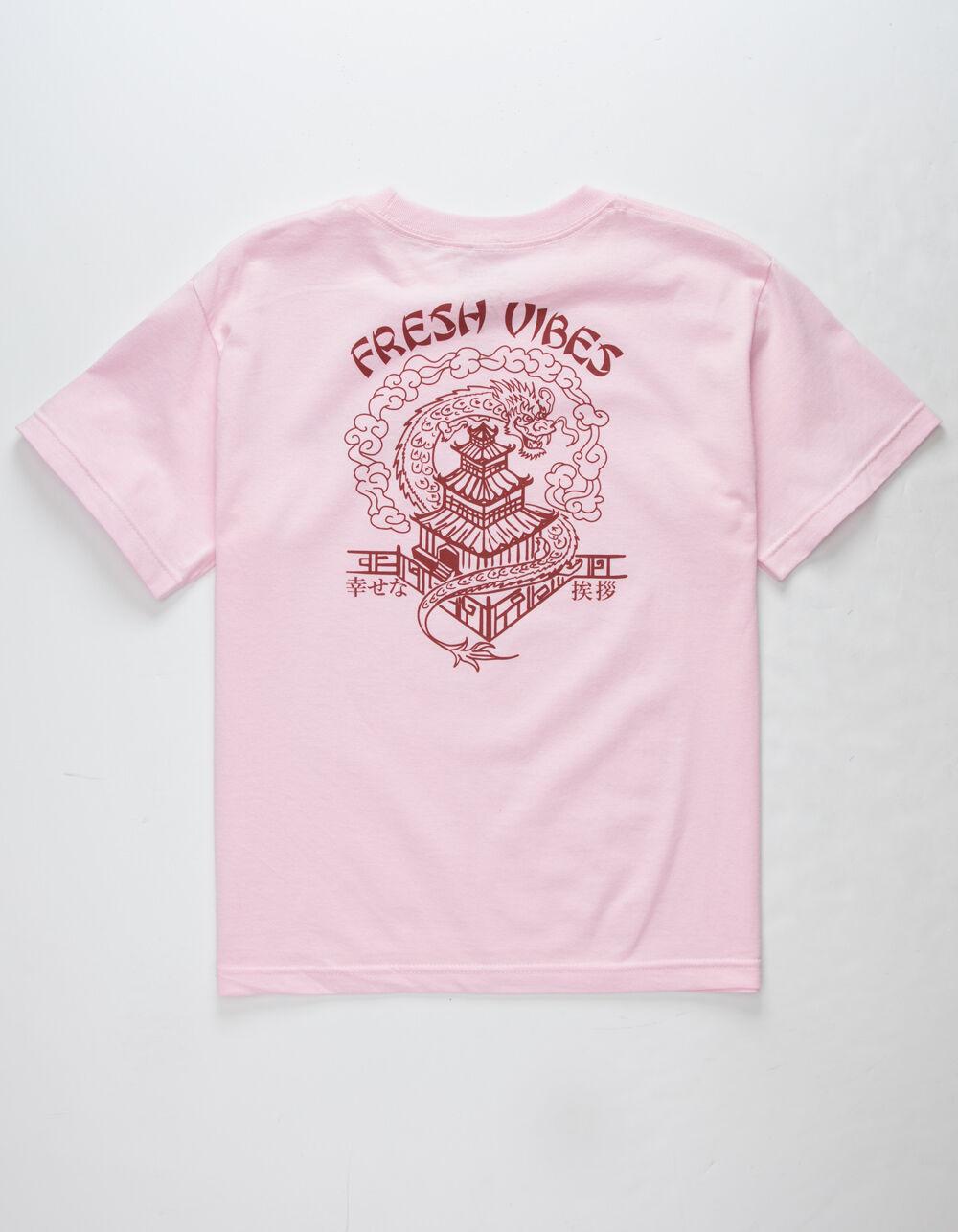 FRESH VIBES Thank You Dragon Boys T-Shirt