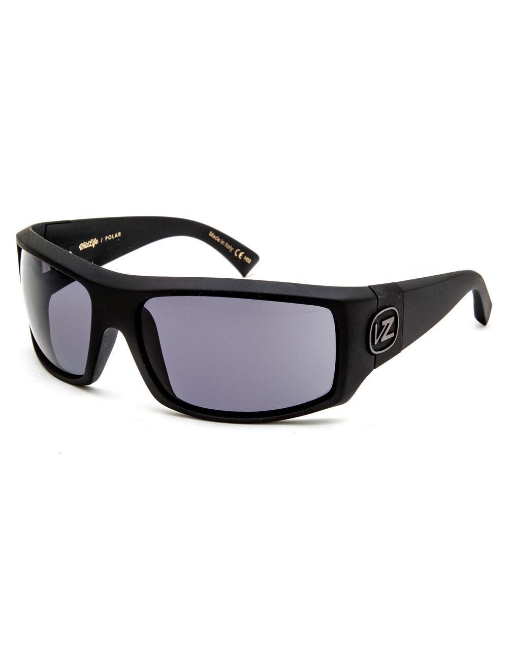 VONZIPPER Clutch Matte Black & Grey Wildlife Sunglasses
