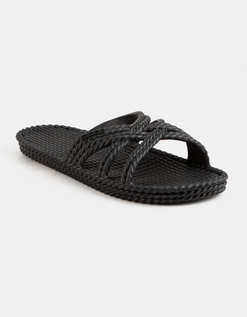 BILLABONG Slippin Slide Black Sandals