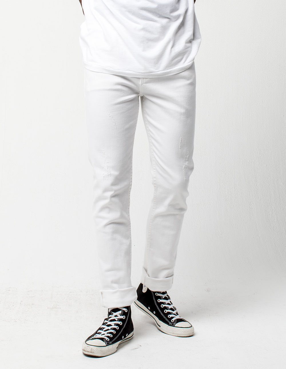 RSQ London White Skinny Jeans