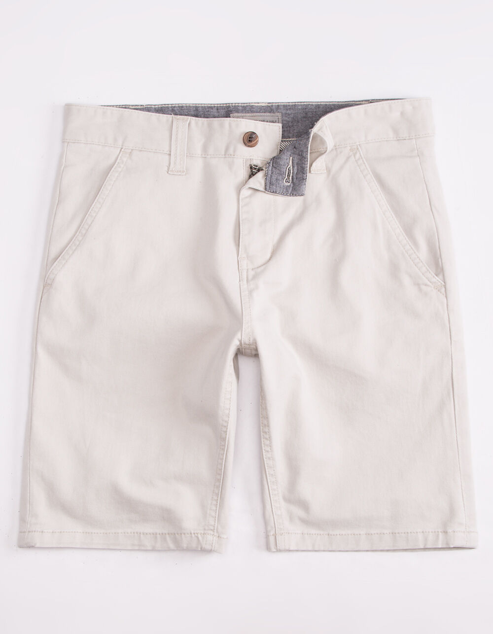 CHARLES AND A HALF Lincoln Stretch Stone Shorts