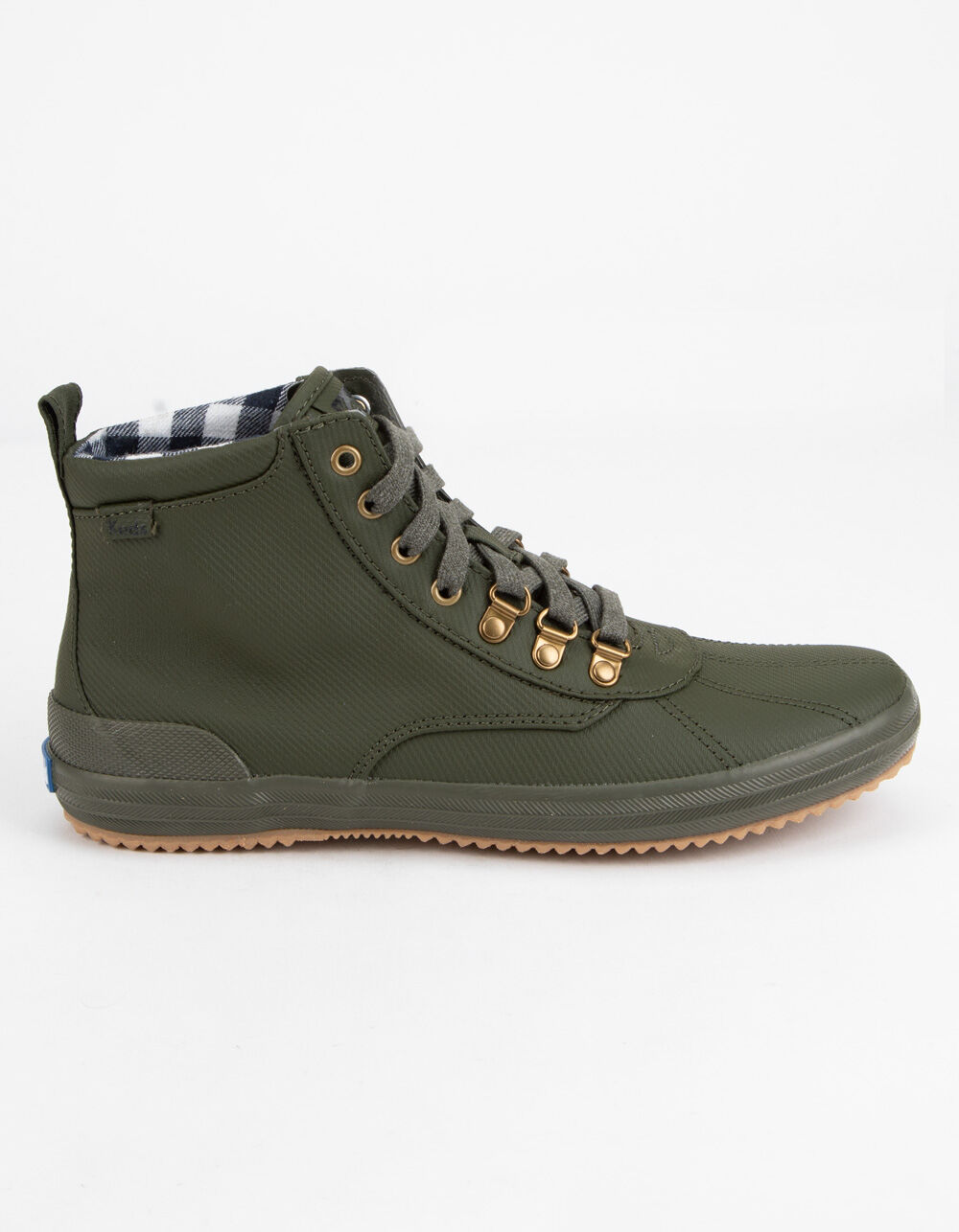 KEDS Scout Water-Resistant Olive Boots