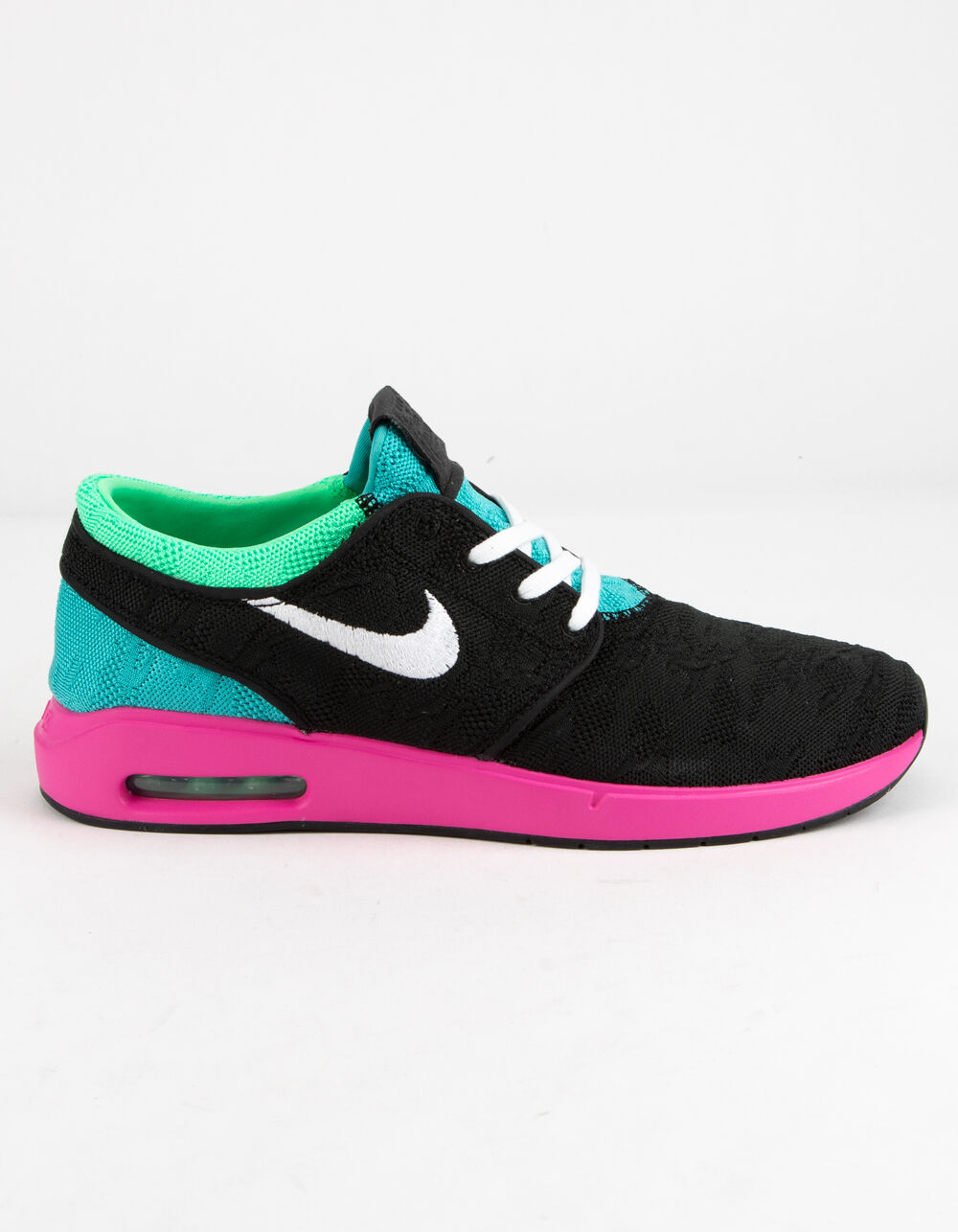 NIKE SB Air Max Janoski Black & Vert Electro Shoes