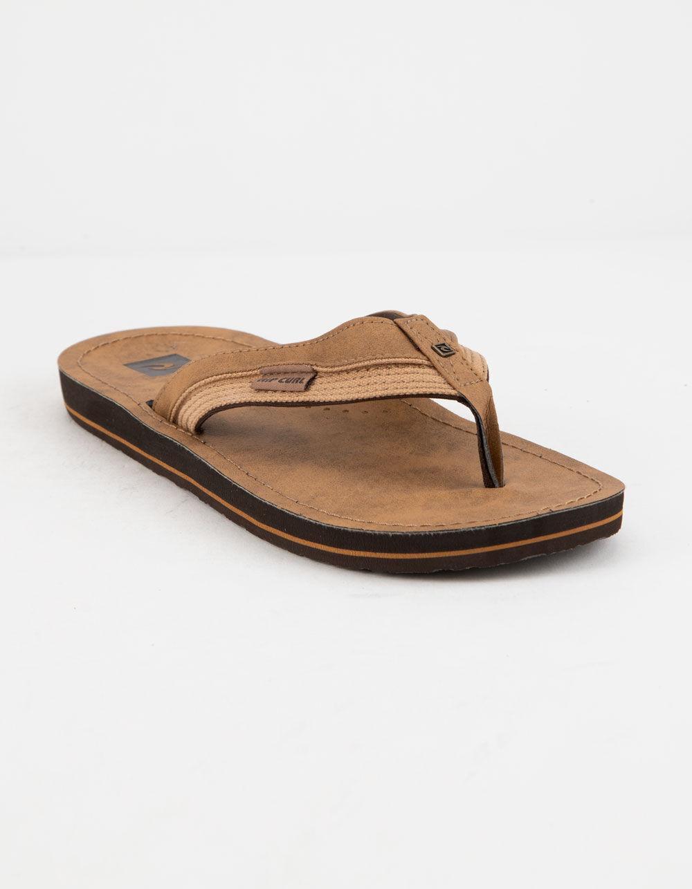 RIP CURL OX Tan Sandals