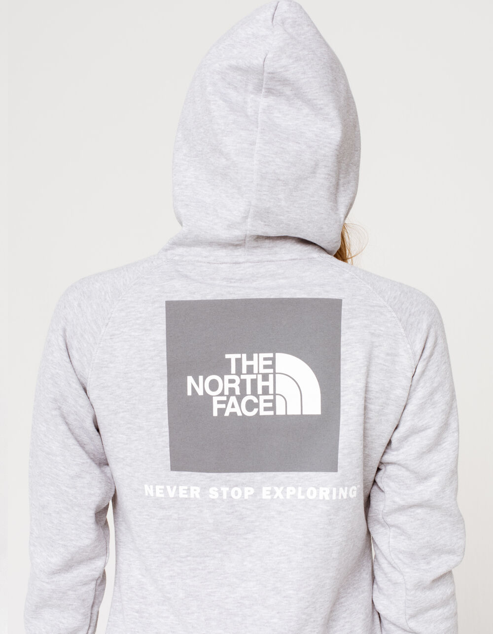 THE NORTH FACE Red Box Grey Hoodie