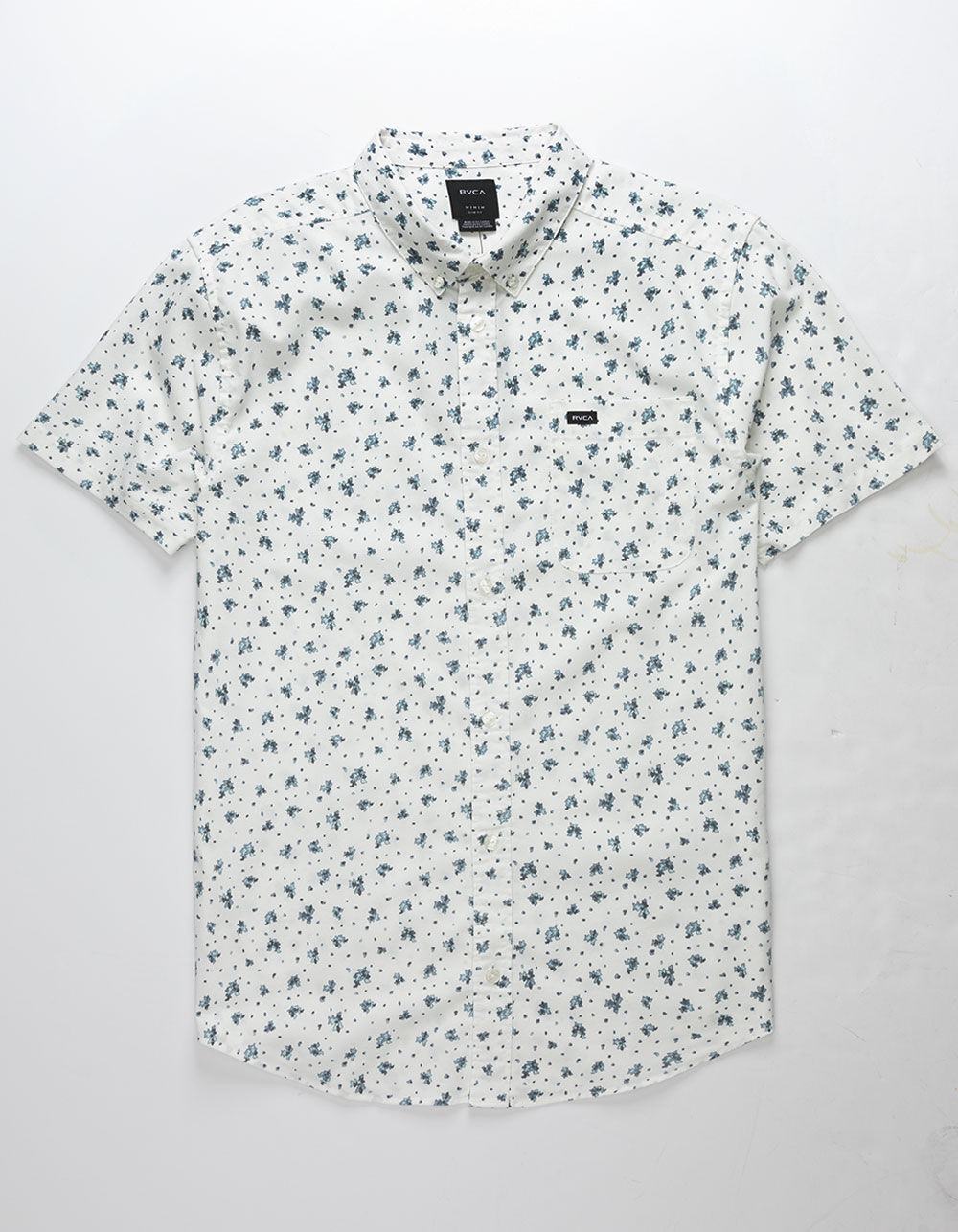 RVCA That'll Do Print Antique White Shirt