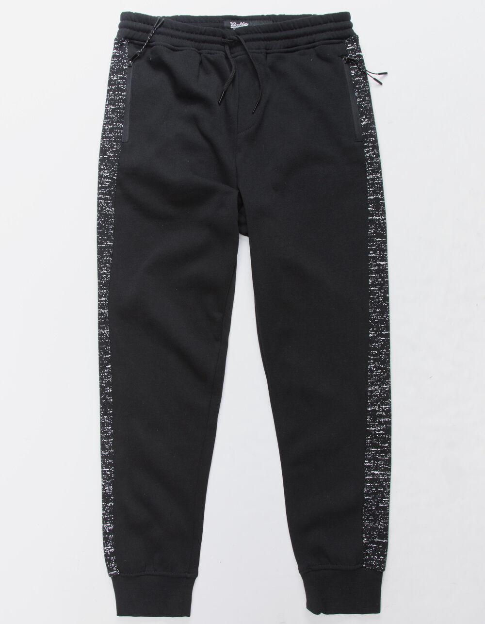 Image of BROOKLYN CLOTH SPACE DYE STRIPE BOYS JOGGER PANTS