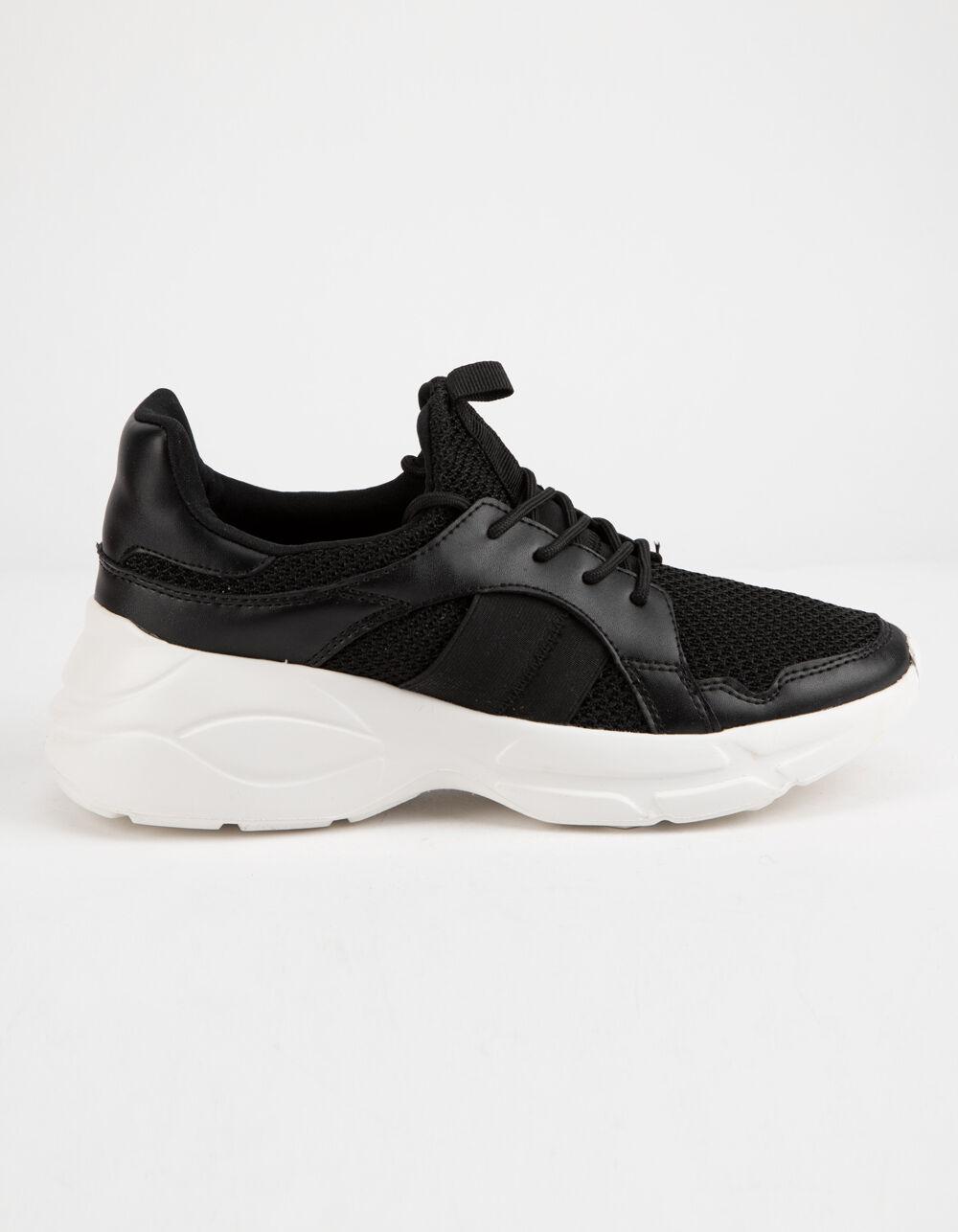 QUPID Piers Black & White Shoes